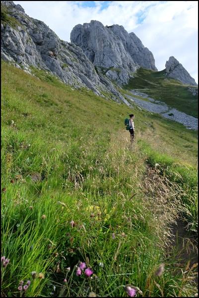 Auf dem Weg zur Hochkünzelspitze