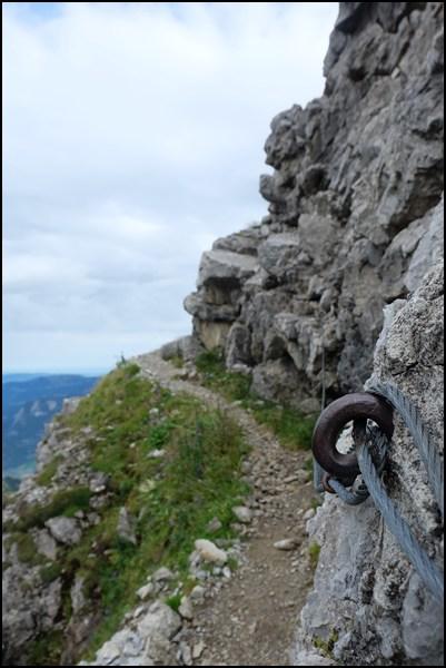 Die letzten Meter zum Gipfel der Hochkünzelspitze