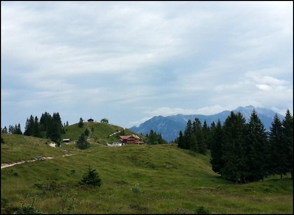 Mit dem MTB auf dem Kranzberg Plateau