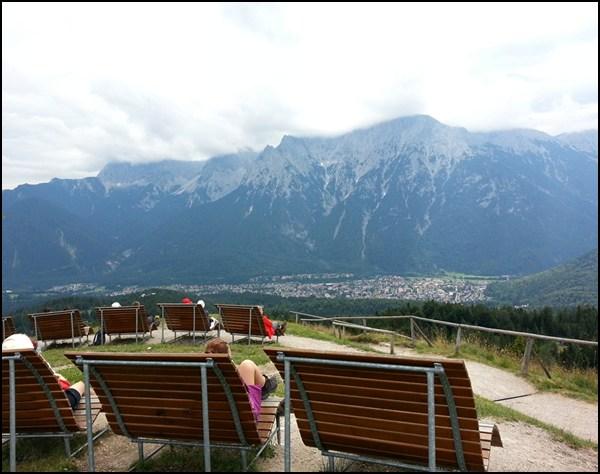 Kranzberg Gipfel im Karwendel