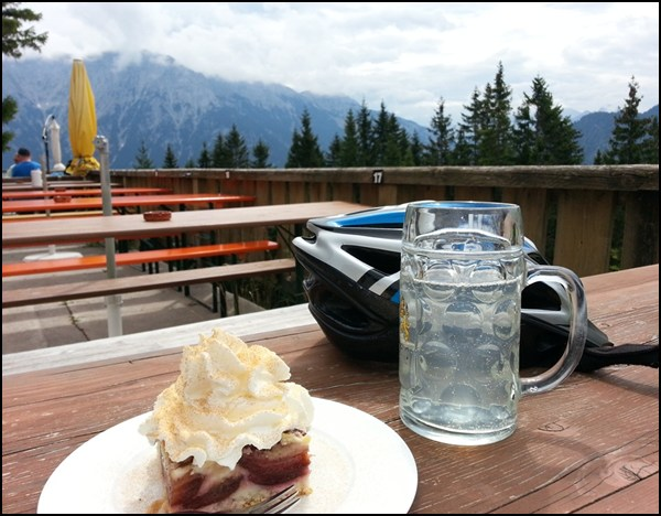 Kuchen Pause im Kranzberghaus