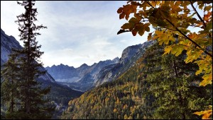 Rißtal im Karwendel im Herbst
