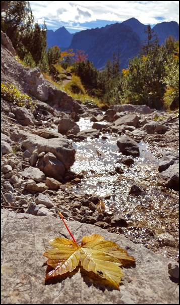 Herbstwanderung im Karwendel