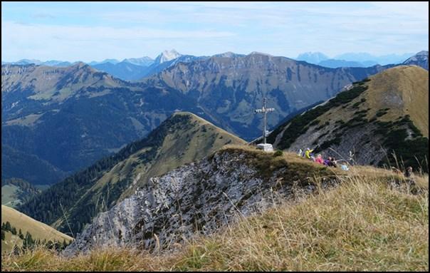 Gipfel Fleischbank in Tirol