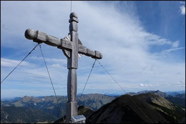 Gipfelkreuz Fleischbank