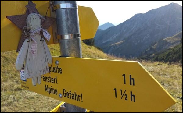 Schutzengel in den Ammergauer Alpen
