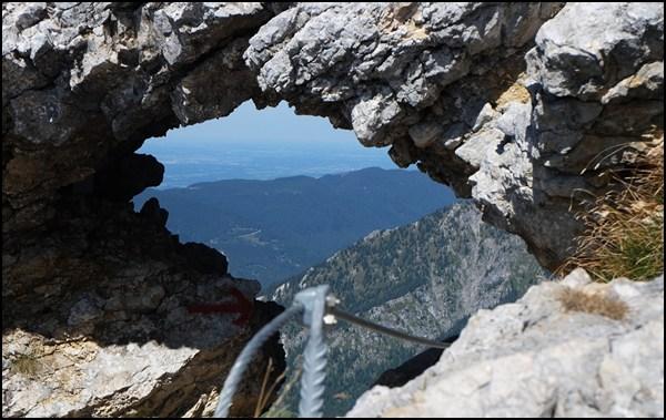 Fensterl zwischen Krähe und Hochplatte