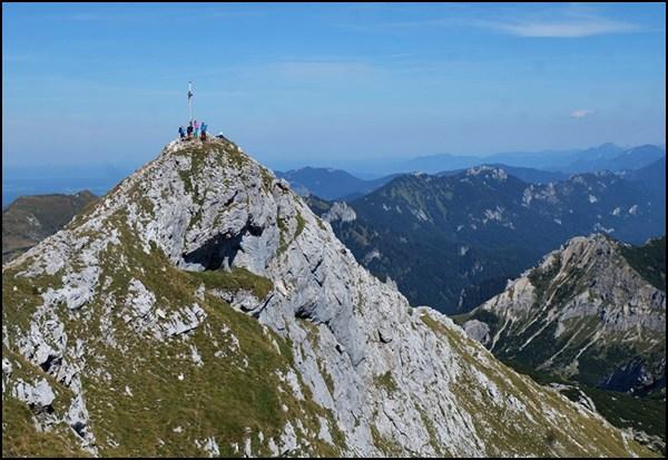 Ammergauer Hochplatte Gipfel