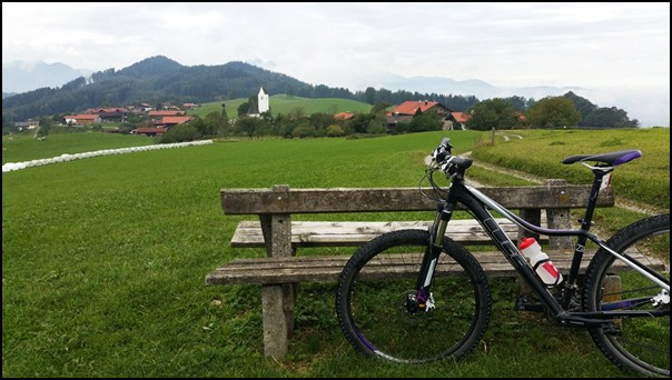 Mountain Bike Tour für Anfänger (4): die Samerberg Runde