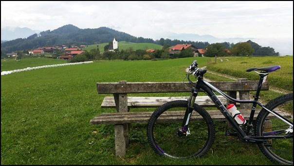 Bergradl am Samerberg im Chiemgau
