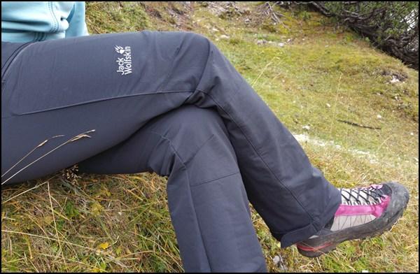 Testbericht Jack Wolfskin Activate Pants Damen Softshell Hose