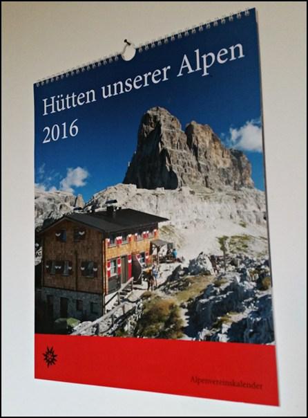 Hütten Kalender 2016