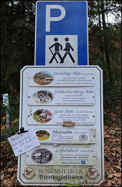Parkplatz Aigen Hintergschwendt