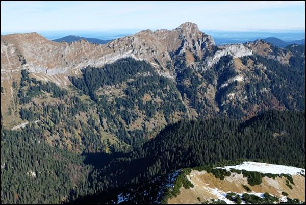 Wanderung auf die Scheinbergspitze in Bayern
