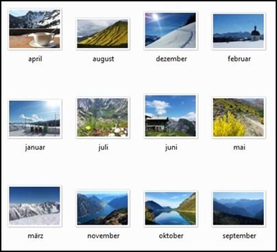 Gipfelglück Kalender