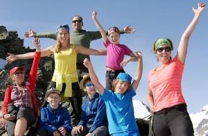 Alpenüberquerung Tamina Kallert und Team, Bild: WDR/Karen Wesselmann