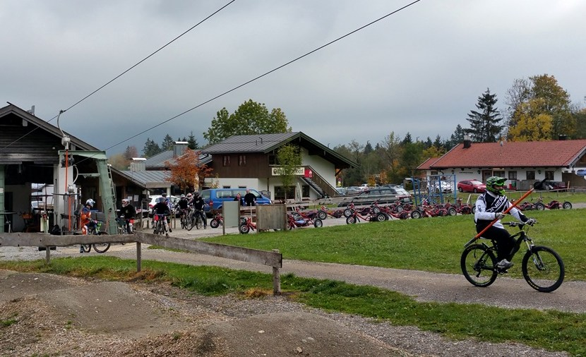 Schlepplift für Mountainbiker