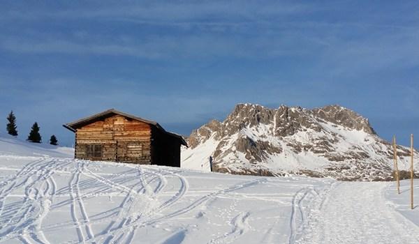 Winter in Oberlech