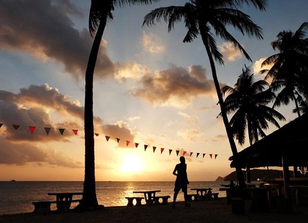 Sonnenuntergang auf Koh Phangan/ Thailand