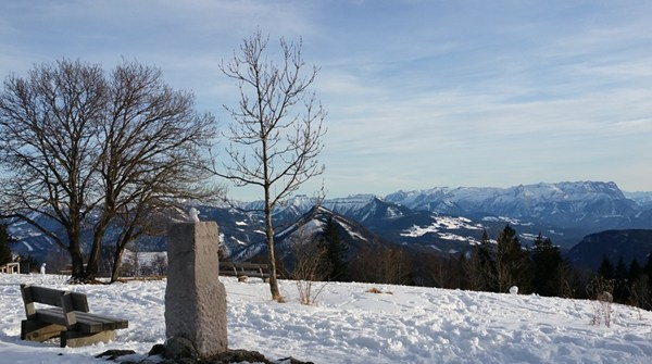 Blick vom Gaisberg Richtung Süden