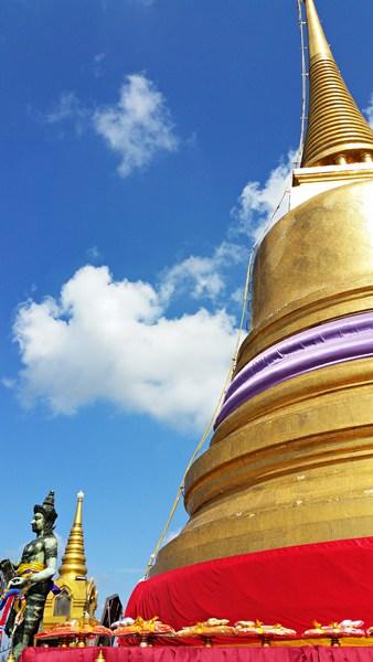 Chedi am Goldenen Berg in Bangkok