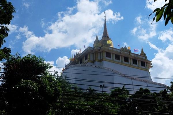Thailand: Der Goldene Berg in Bangkok