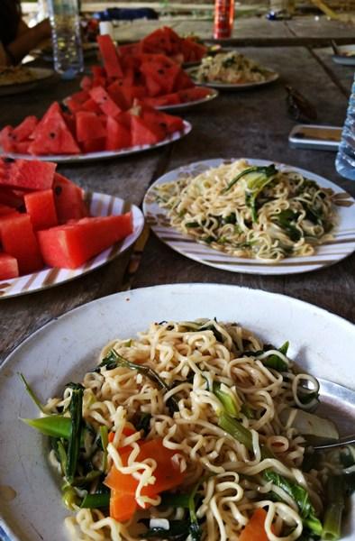 Mittagessen in Thailand