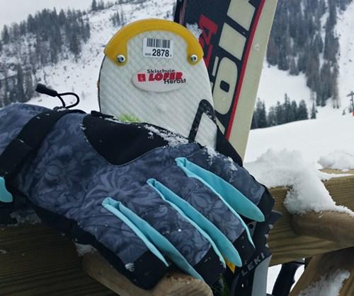 Projekt Pistenglück- Ausrüstung (1): Skihandschuhe