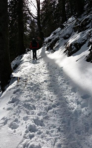 Feine, einsame Winterwanderwege im Chiemgau
