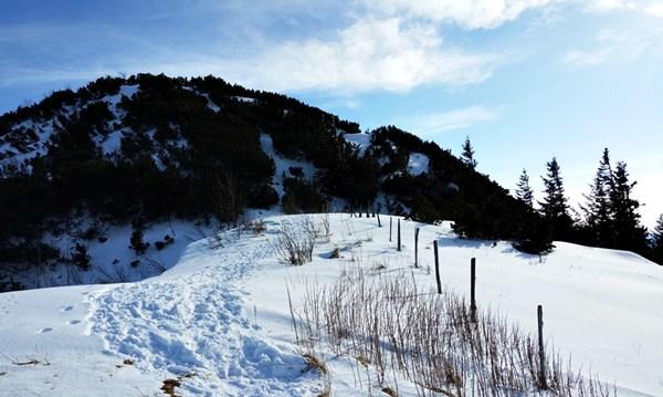 Einsame Berge in den Chiemgauer Alpen