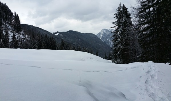 Winter in den Chiemgauer Alpen