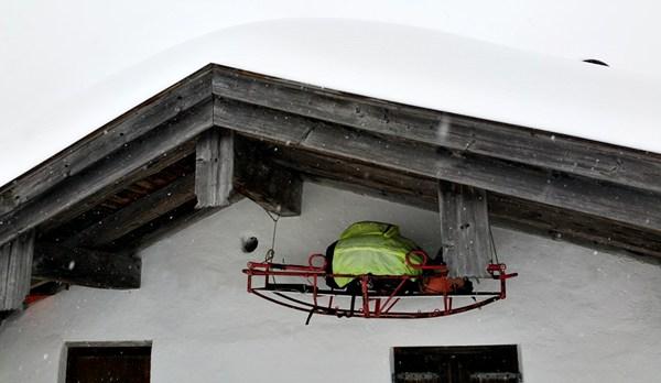 Hütte auf der Hörndlalm