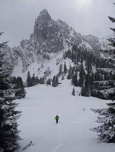 Schneeschuhwanderung Hörndlalm