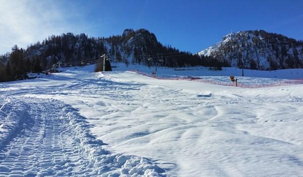 Mit Schneeschuhen auf der Skipiste zum Jenner