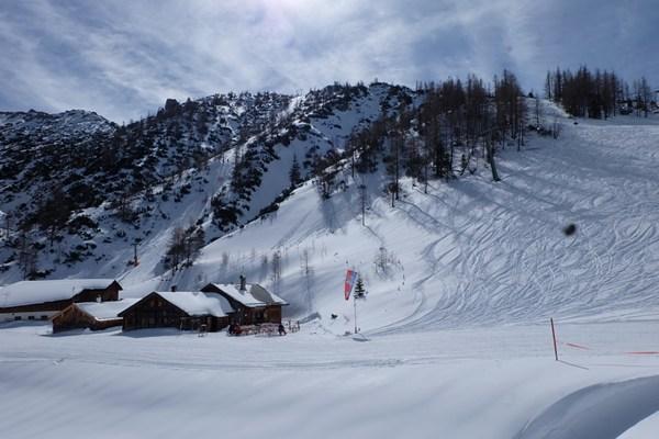 Wintertraum Mitterkaser im Jenner Skigebiet