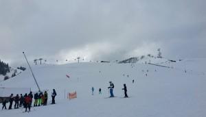 skifahren almenwelt lofer