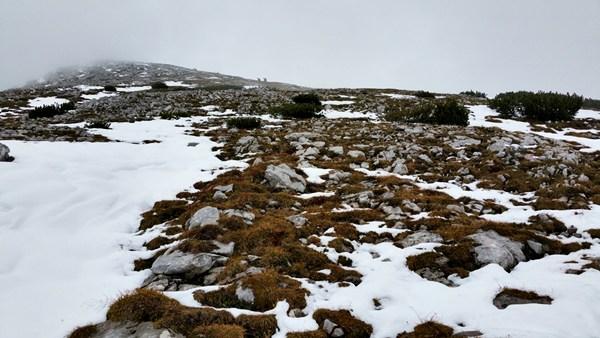 Auf dem Weg zum Großen Solstein Gipfel