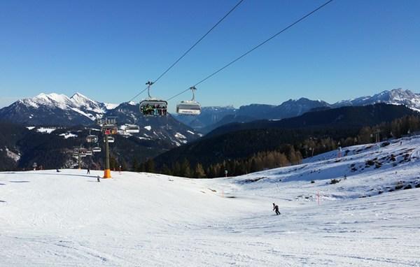 Skitag 3 auf der Steinplatte