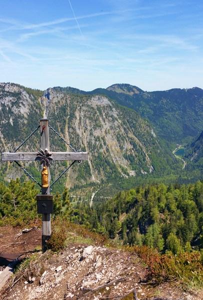 Gipfelkreuz Hausgrabenkopf