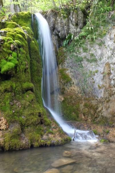 der Gütersteiner Wasserfall