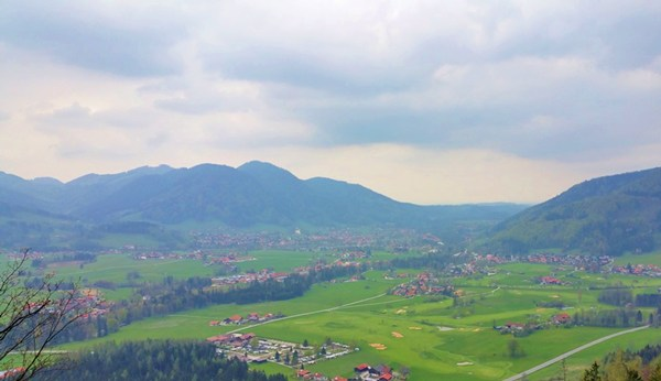 Blick auf Ruhpolding