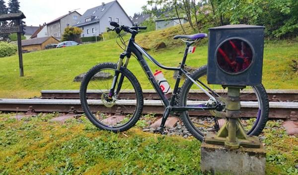 Gleise, Signale und mein Fahrrad