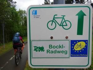 Auf dem Bockl-Radweg Foto: @bergundball