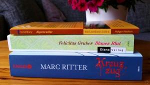 Ein Stapel gelesener Bücher