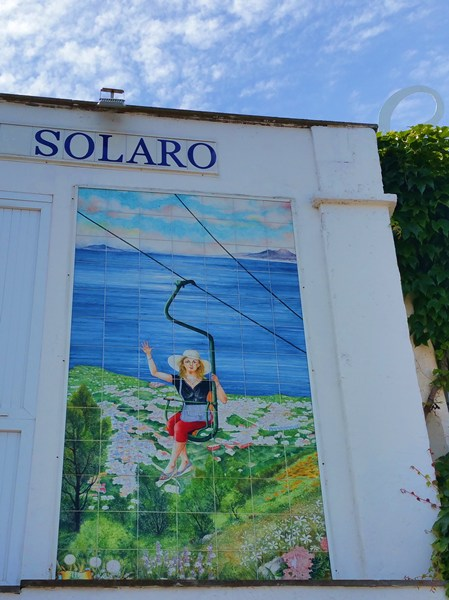 Sessellift zum Monte Solaro