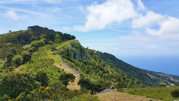 Blick zurück auf den Monte Solaro
