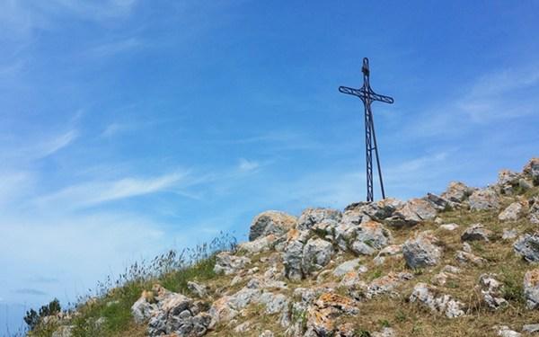 Gipfelkreuz Monte Cappello