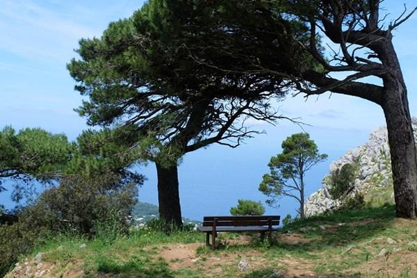Italien: eine kleine Wanderung auf Capri