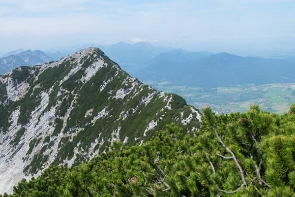 Blick auf den Grat zwischen Gamsknogl und Zwiesel