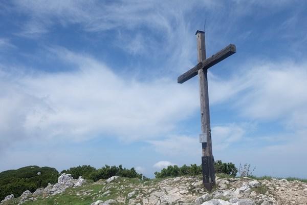 Gipfelkreuz am Zwiesel